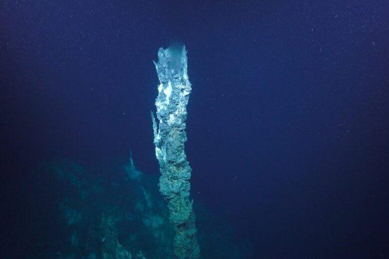 Found: Upside-Down Waterfalls, Steaming Mud, and Blue Microbes on the Ocean Floor
