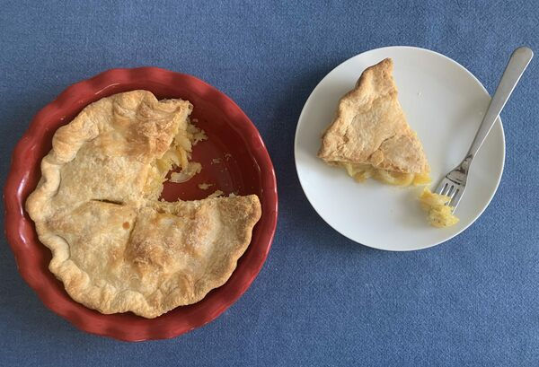 Eat Like a 19th-Century Shaker With This Simple Lemon Pie