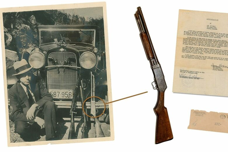For Sale: Bonnie and Clyde's Sawed-Off Shotgun