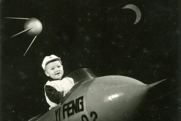 Early Chinese Trick Photography Sent Chubby Babies Into Space