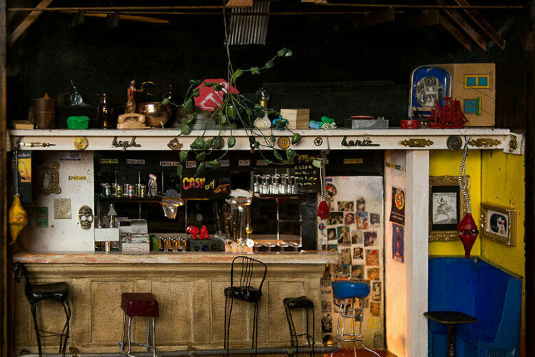 This Artist Builds Tiny, Lifelike Replicas of Beloved Dive Bars