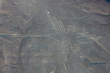 A geoglyph that might not be of a hummingbird after all!