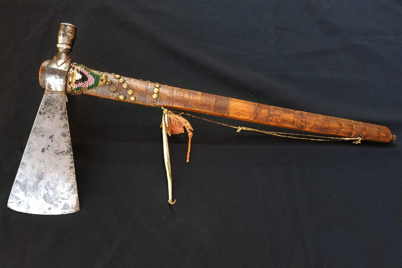 Stranger Horse's pipe-tomahawk.