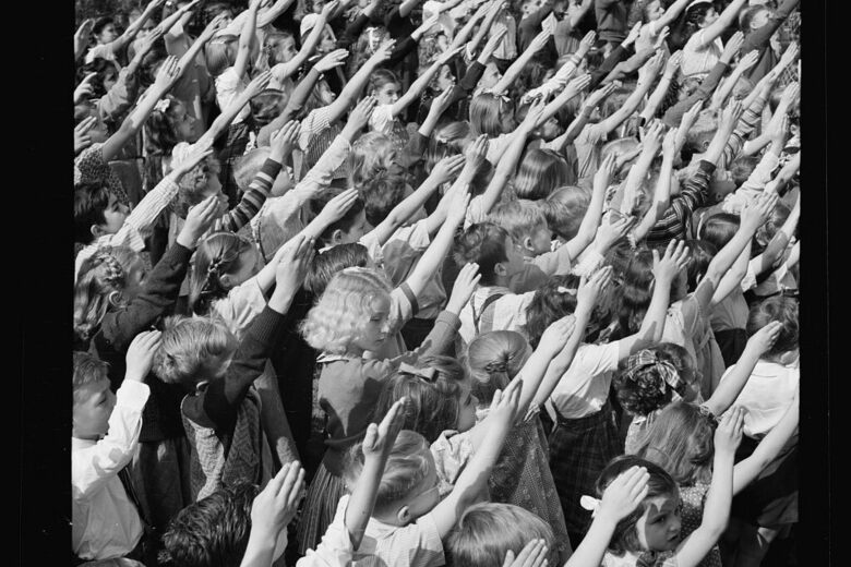 How the Nazi Salute Became the World's Most Offensive