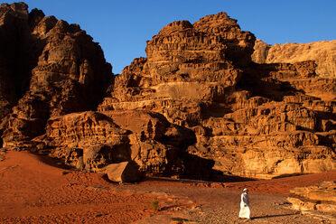 Wadi Rum in southern Jordan.