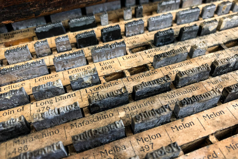 A California Type Foundry Is Keeping Vintage Printing Alive