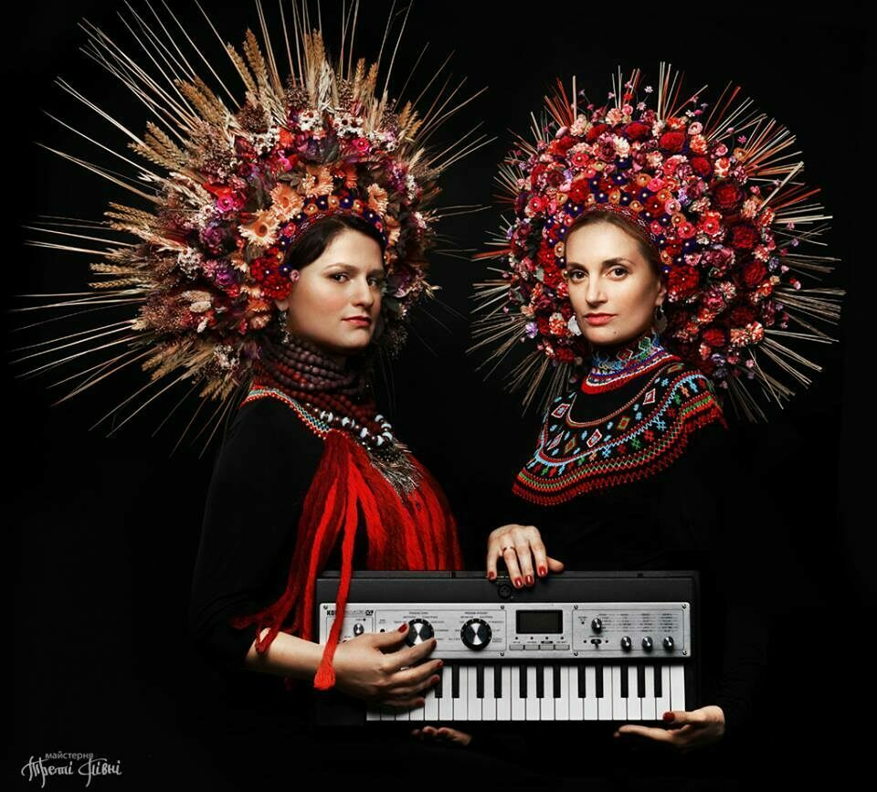 Crowns made for the electro-jazz band Dagadana.