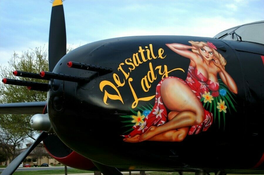 "The ""Bacardi Bomber"" now resides at Lackland Air Force Base in Texas."