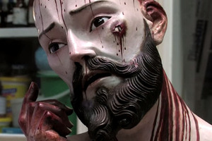 Human Teeth Discovered in a Gruesome 18th-Century Christ Statue