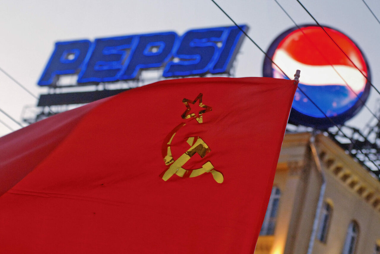 "Pepsi was the first ""capitalist"" product sold in the Soviet Union."