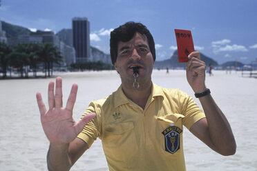 Jorge José Emiliano dos Santos, photographed in 1992.