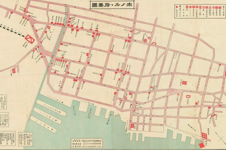 Tour Honolulu's Japanese Food Scene With This 1906 Map