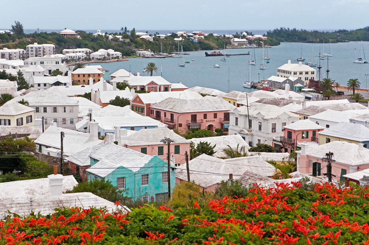 Bermuda's solution to its water conundrum is visible in the historic town of St. George.
