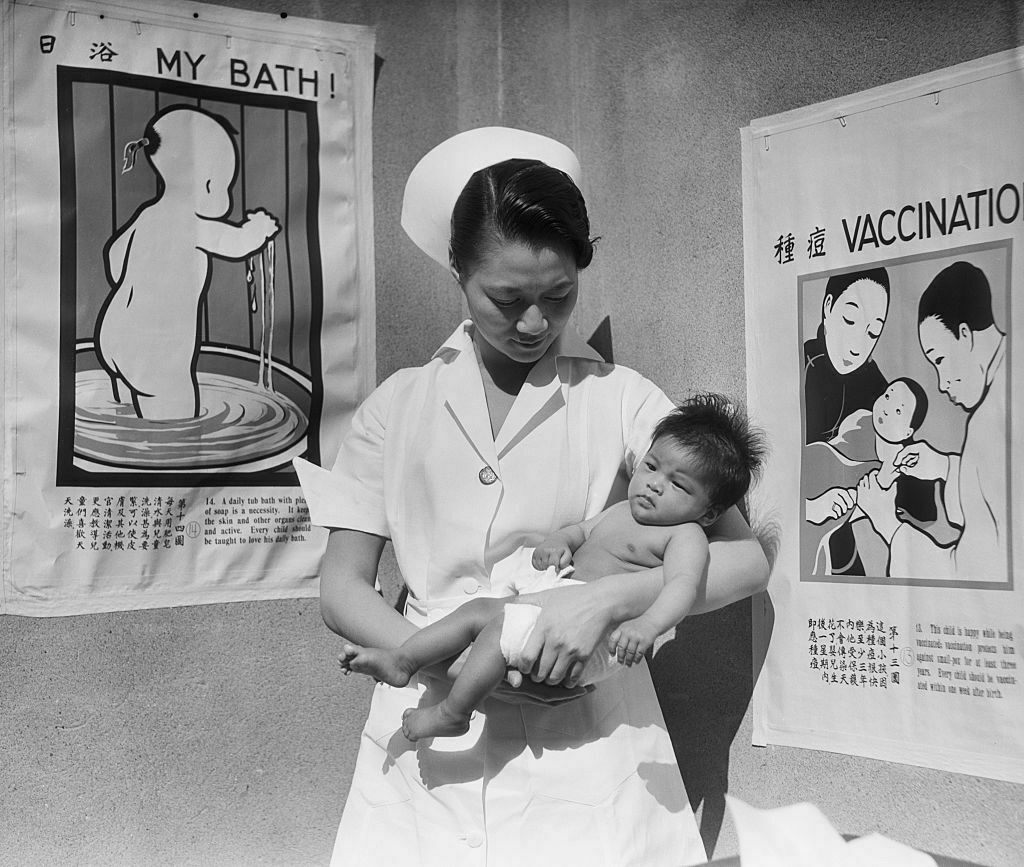 In 1933, Minnie Sun worked as a nurse in the baby ward of the Chinese Hospital. Bruce Lee would be born there seven years later.