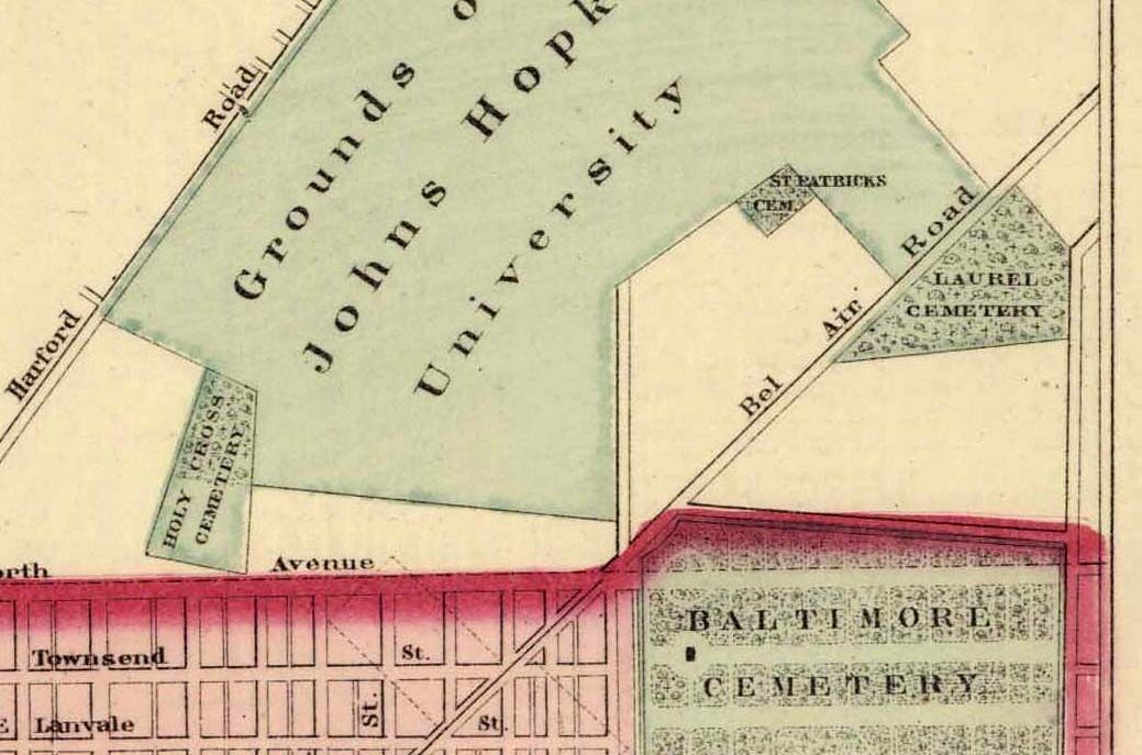 The Grim History Hidden Under a Baltimore Parking Lot Atlas Obscura