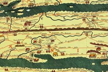 The Beautiful Network Of Ancient Roman Roads Atlas Obscura - Maps of us and anchent rome