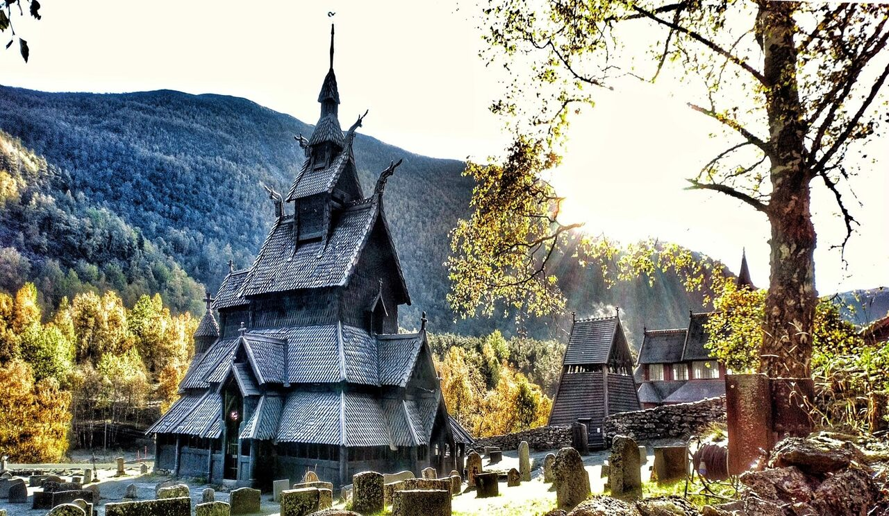 For more than 800 years, the stave church of Borgund, Norway, has towered over the surrounding village. Conservators face a constant struggle to protect the historic wooden building from the elements.