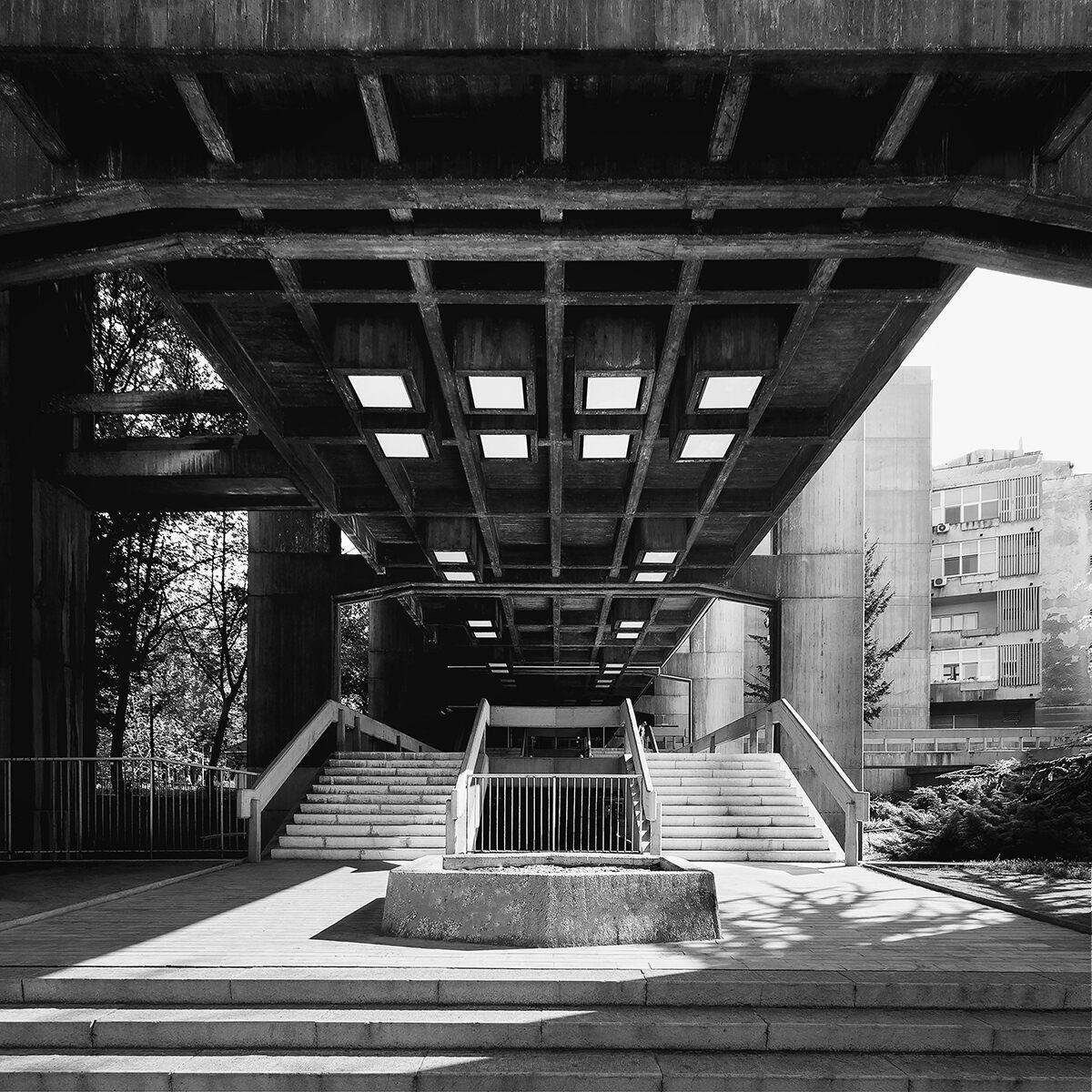 Urban Planning Institute, architect Branislav Jovin, 1970.