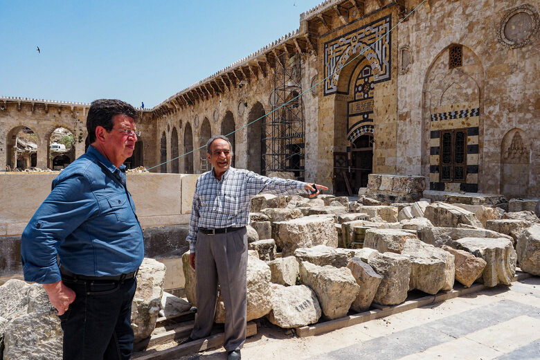 Syrians Won't Give Up on the Great Mosque of Aleppo