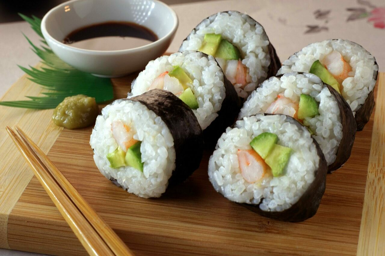 California rolls: Not from Canada?