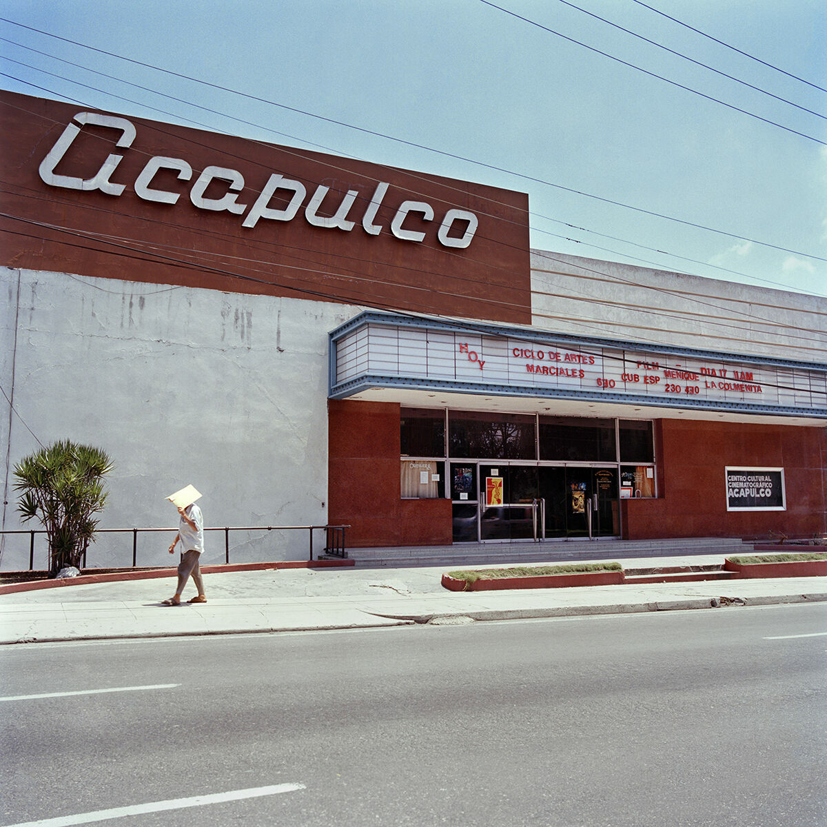 Cine Acapulco, Havana. This 1500-seat cinema opened in 1958 and still functions today.