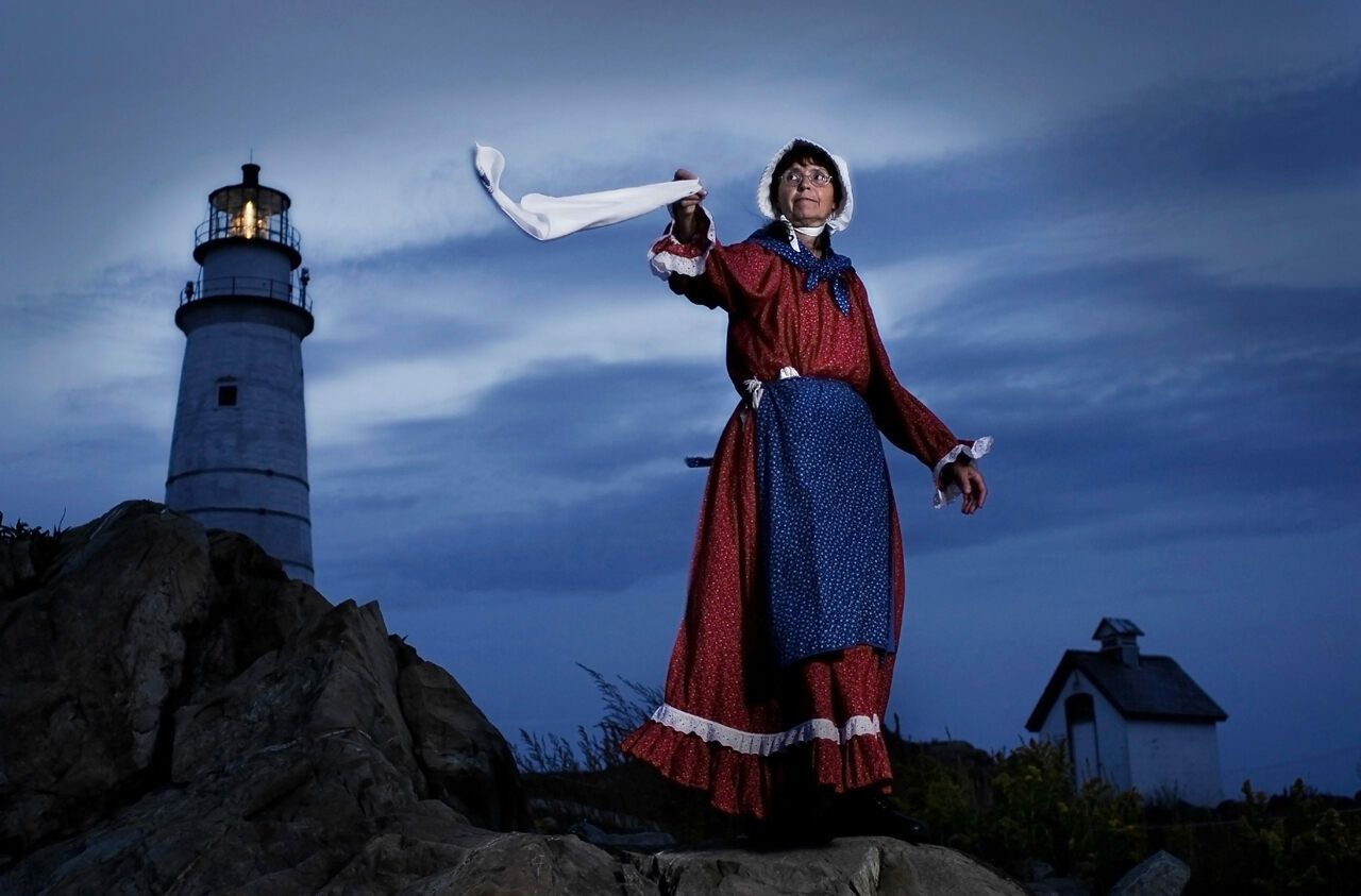 Sally Snowman has served as the keeper of Boston Light for 17 years, and relishes the tradition it involves.