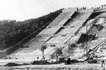 A partial model of the Deutsches Stadium, 1937.