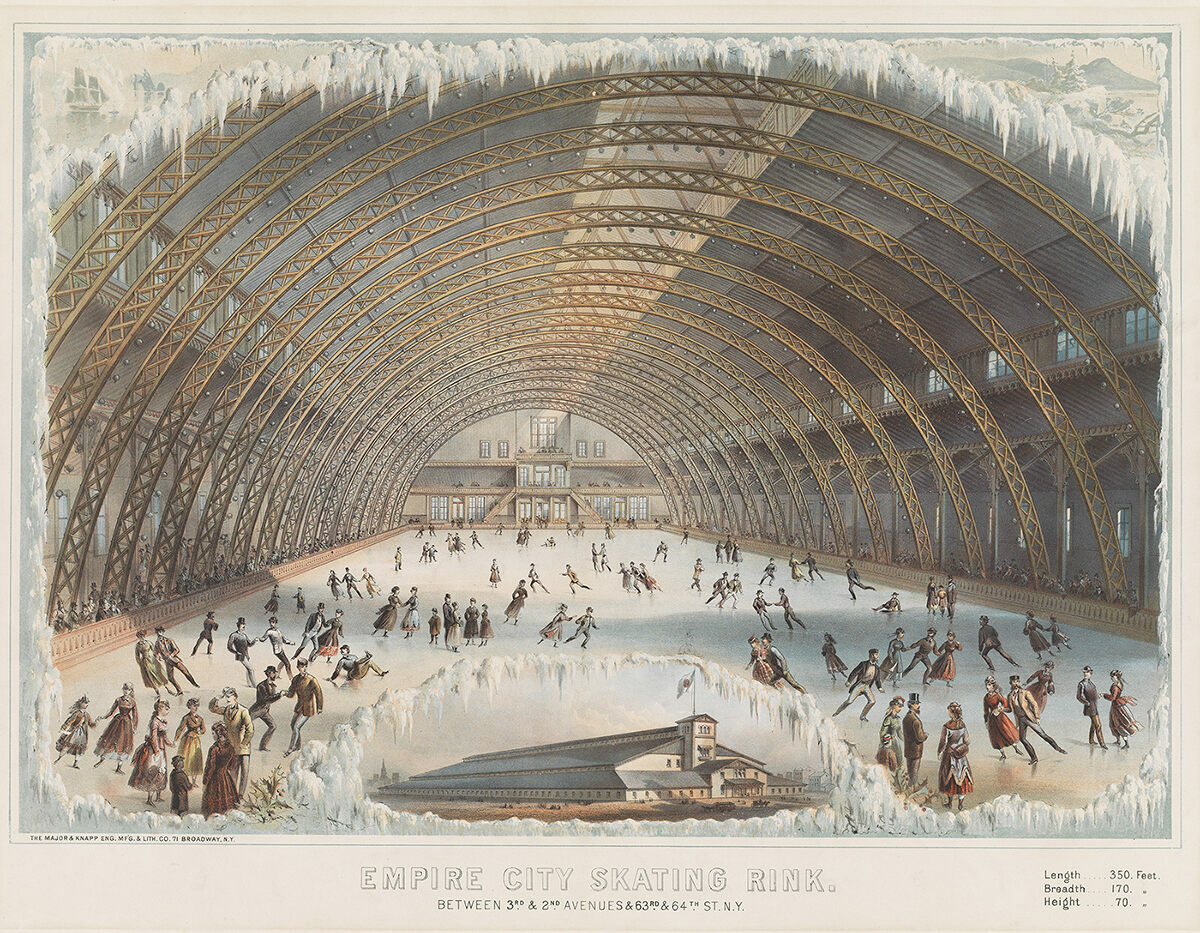 <em> Empire City Skating Rink</em>, c. 1868