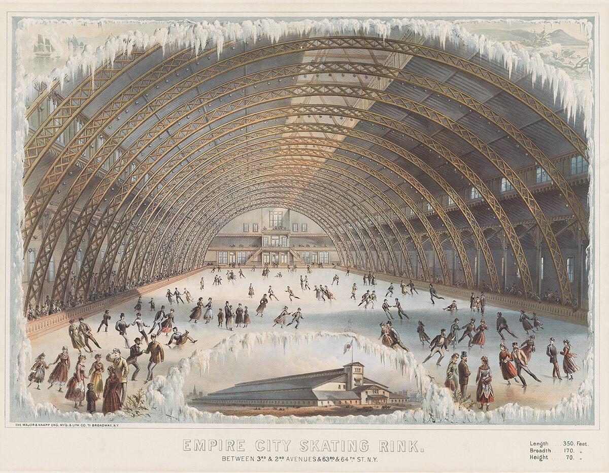 <em> Empire City Skating Rink</em>, c. 1868