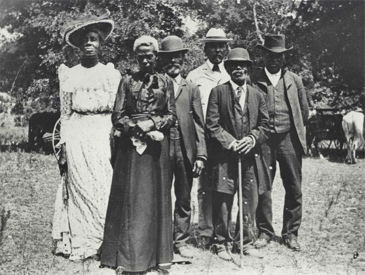 A Juneteenth celebration in Texas on June 19, 1900.