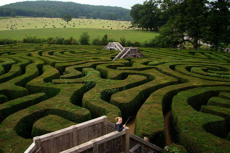 7 Hedge Mazes To Enchant (And Entrap) You