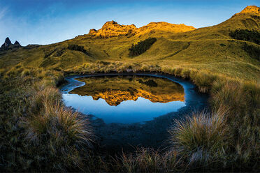 Rohnfelder captured dreamy reflections at Mount Giluwe, in Papua New Guinea.
