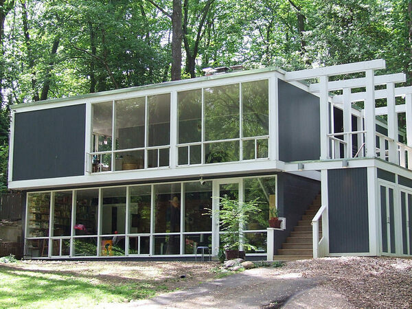 The strange pocket of modern houses in virginia that were for Contemporary homes virginia