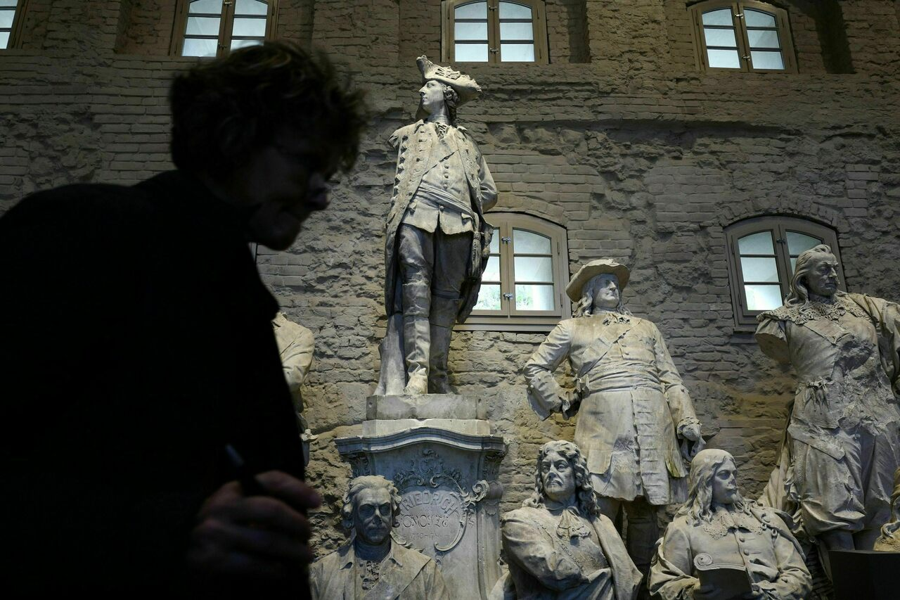 "The Citadel Museum's permanent exhibition is called ""Unveiled. Berlin and its Monuments."""