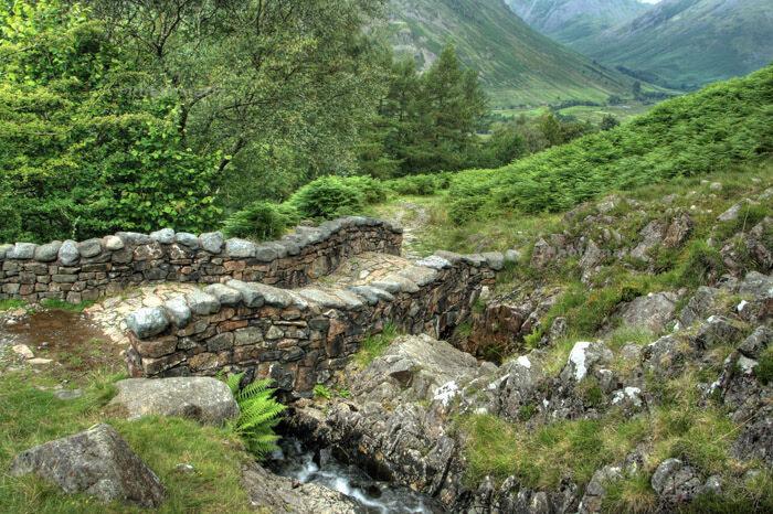Corpse road between Wasdale & Eskdale in England's Lake District.