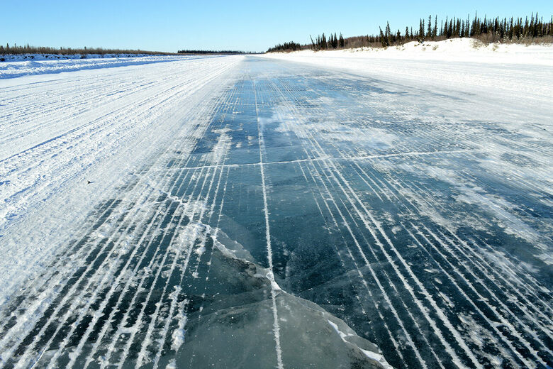 Canada's Ice Roads Are Melting Too Soon