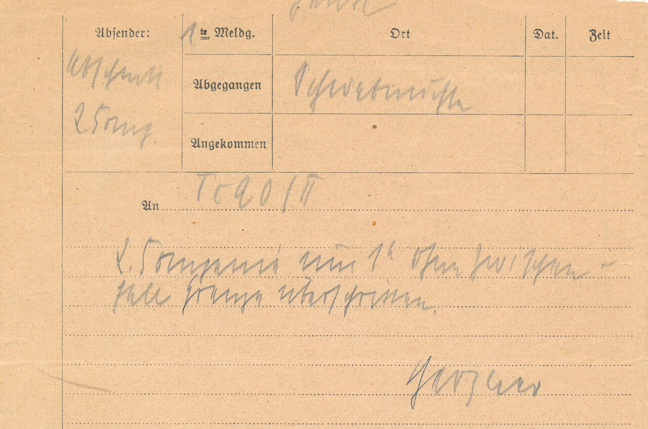 For Sale: The First Telegram of World War II, Sent a Few Days Before World War II - Atlas Obscura