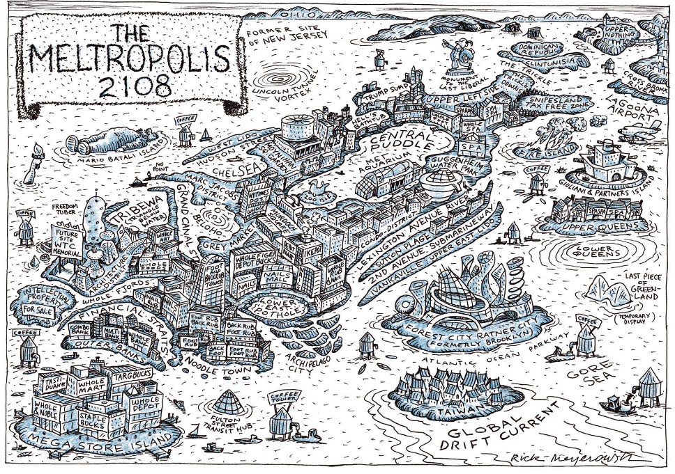 <em>The Metropolis 2108</em> by Rick Meyerowitz.