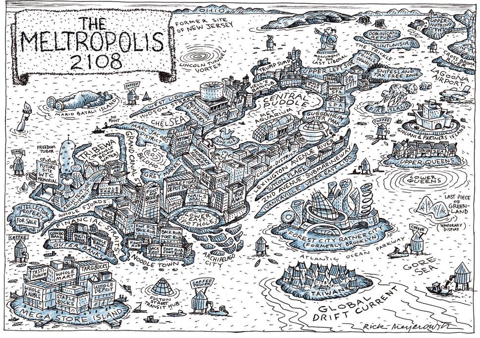 Future Of New York City Vivid Maps