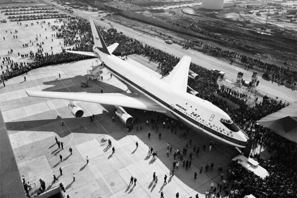Watch the First Boeing 747 Take Flight