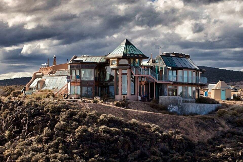 Earthship sustainable architecture has been evolving since the 1970s.