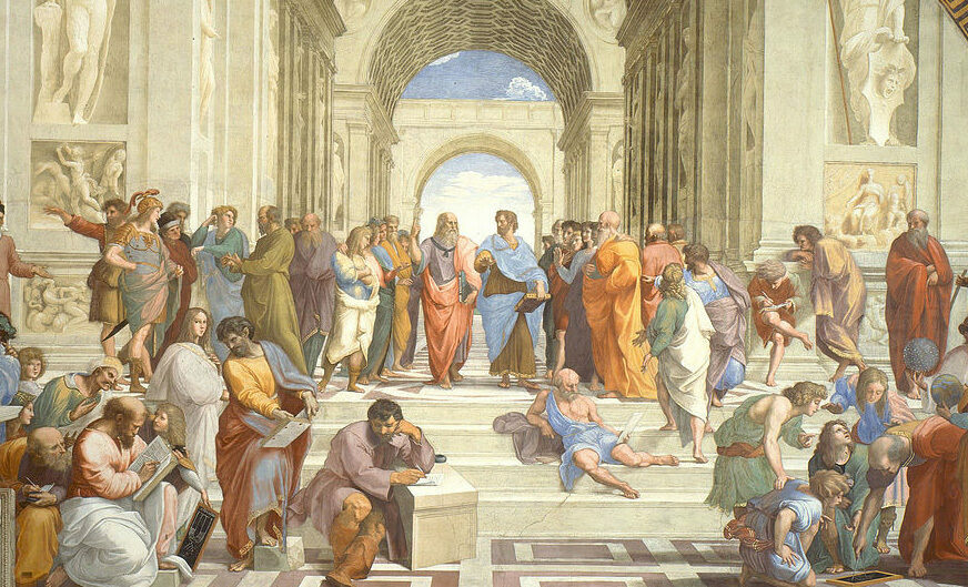 <em>The School of Athens</em>, 1511.