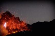 Fleeting Wonders: A Lightning-Filled Volcano Doesn't Faze Japan