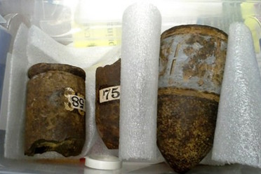Live artillery shells found at a Massachusetts library
