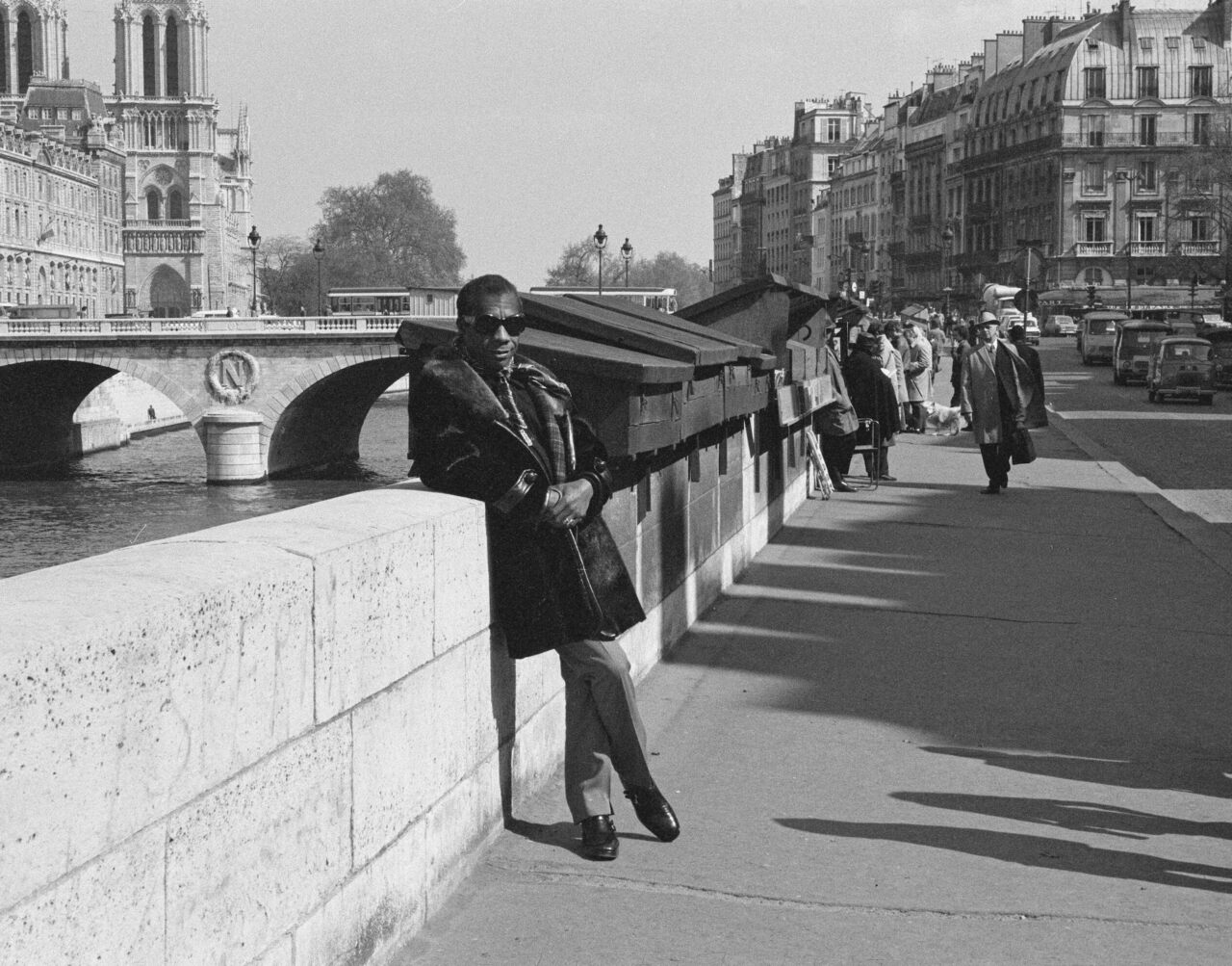 James Baldwin worked on his first novel in Paris, and he ultimately spent decades living in France.
