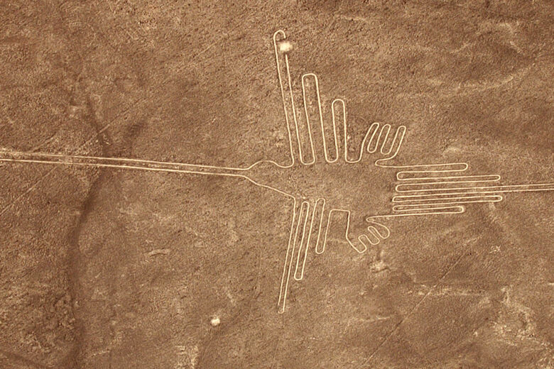 To Decipher Peru's Nazca Lines, Think Like an Ornithologist ... on alhambra on a map, ballestas islands on a map, mount nemrut on a map, bonampak on a map, leaning tower of pisa on a map, manu national park on a map, machu picchu on a map, statue of liberty on a map, huayna picchu on a map, saint petersburg on a map, asia on a map, lascaux on a map, mausoleum at halicarnassus on a map, xochicalco on a map, salar de uyuni on a map, christ the redeemer on a map, europe on a map, borobudur on a map, tikal on a map,