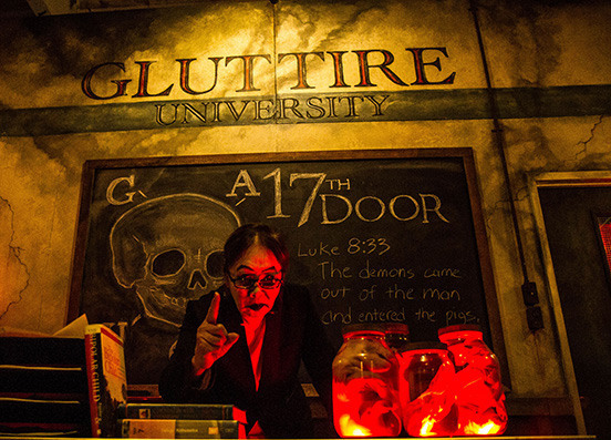 Inside The Disgusting Los Angeles Haunted House Where They