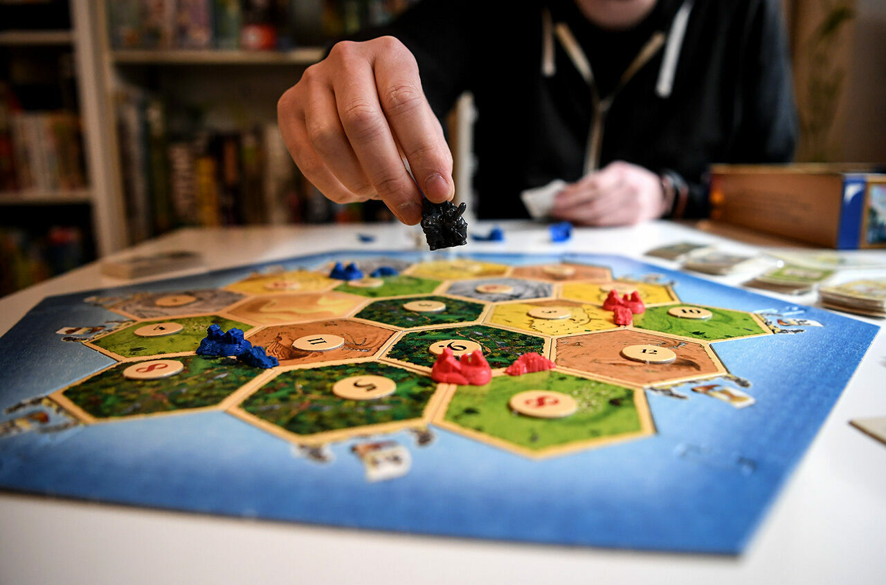 """Settlers of Catan"" got the modern game ball rolling in 1995."