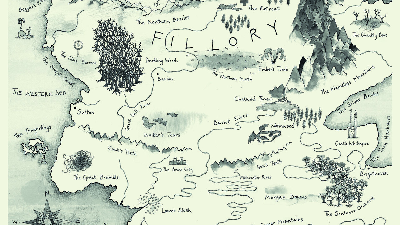 How Writers Map Their Imaginary Worlds Atlas Obscura