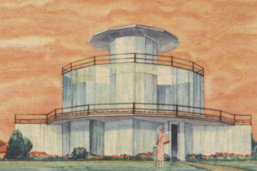 Artist rendering of the House of Tomorrow.